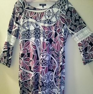 Glamour Knee Length Dress